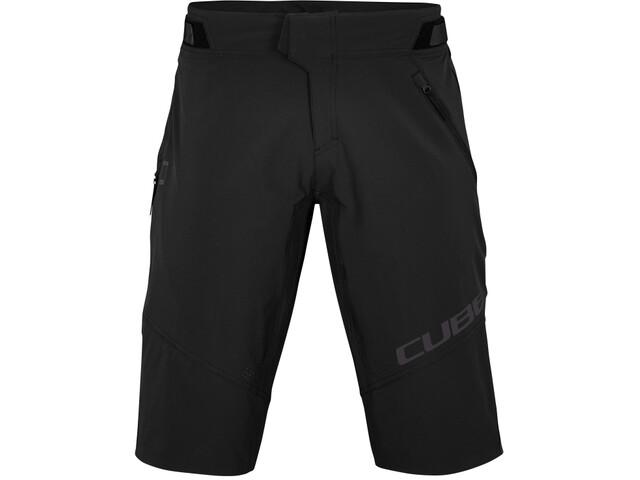 Cube Edge X Actionteam Baggy Shorts Men, negro